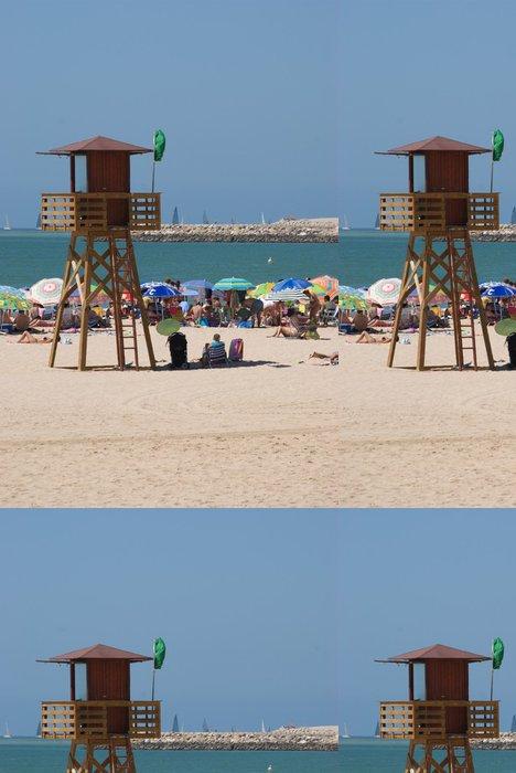 Tapeta Pixerstick Los Vigilantes de la playa - Prázdniny