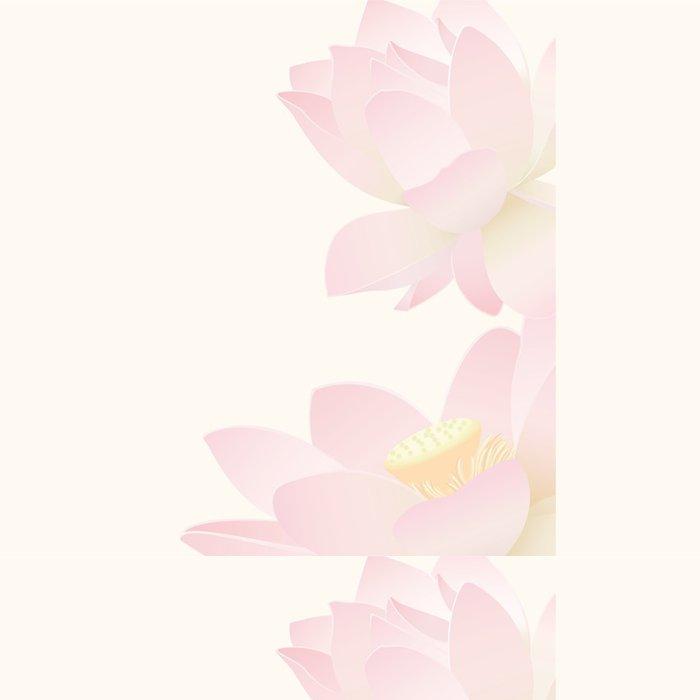 Tapeta Pixerstick Lotus pozadí - Pozadí
