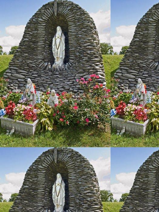 Tapeta Pixerstick Lourdes Statue 1 - Náboženství