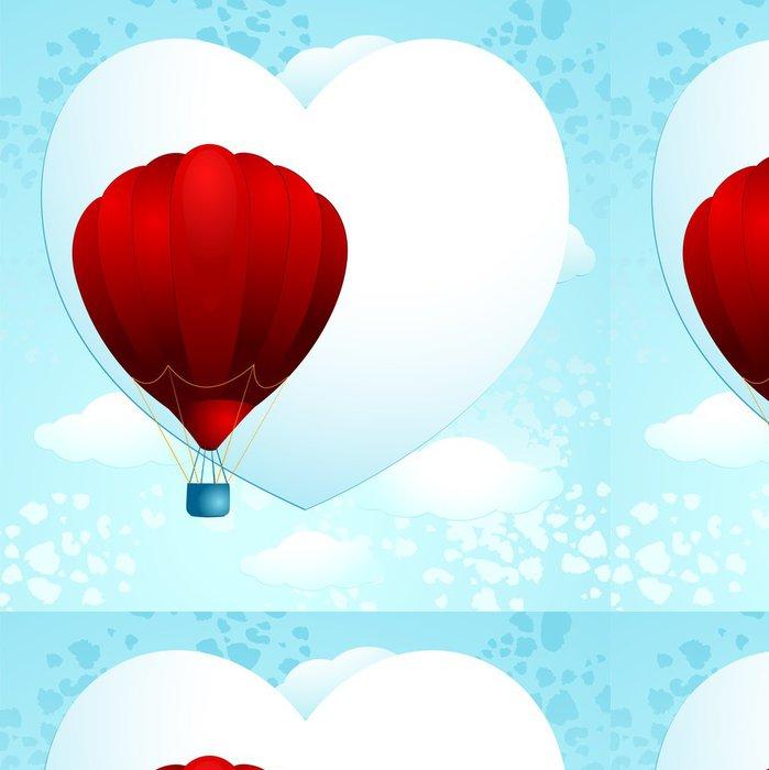 Tapeta Pixerstick Love balónek - Štěstí