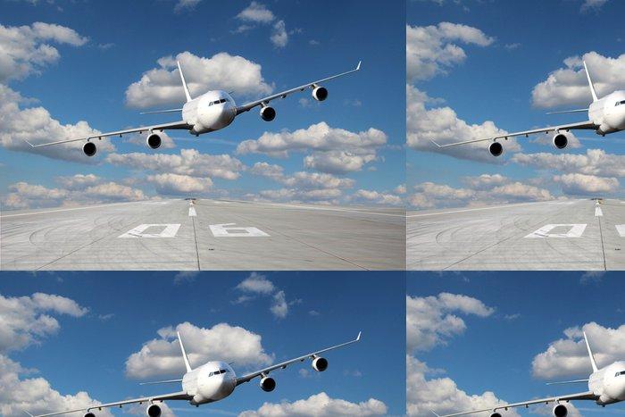 Tapeta Pixerstick Low-pass z bílé letadlo - Témata