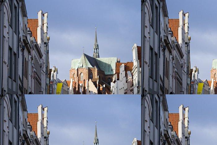 Tapeta Pixerstick Lübeck - Evropa