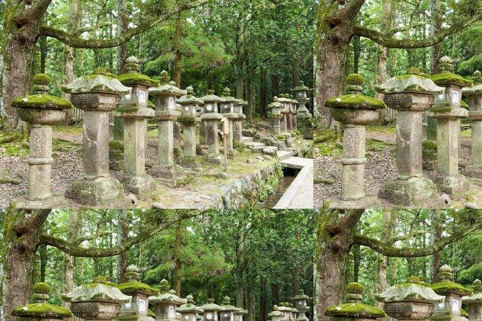 Tapeta Pixerstick Lucerny Nara - Asie