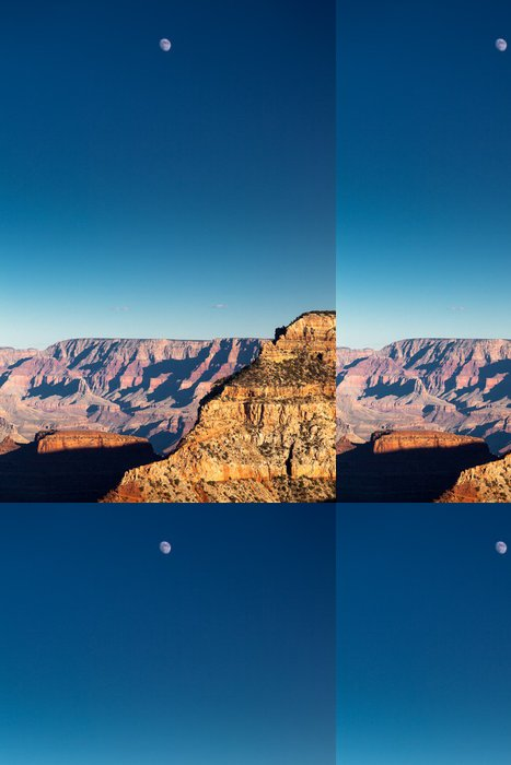 Vinylová Tapeta Luna sul Grand Canyon, USA - Amerika