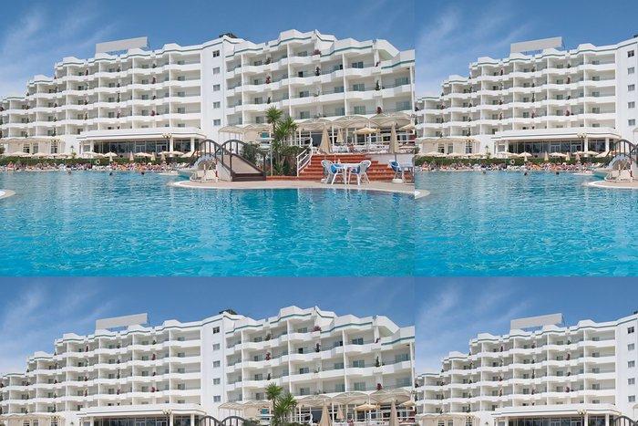 Tapeta Pixerstick Luxusní hotel 2 - Prázdniny