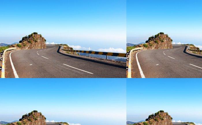 Vinylová Tapeta Madeira silnice v horní části mraků - Témata