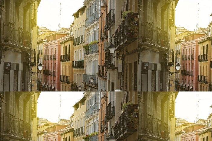 """Tapeta Pixerstick Madrid, barevné staré čtvrti """"Lavapies"""", Španělsko - Evropská města"""