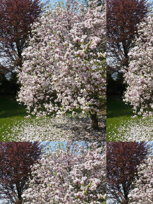Tapeta Pixerstick Magnolienblüte - Životní styl, péče o tělo a krása