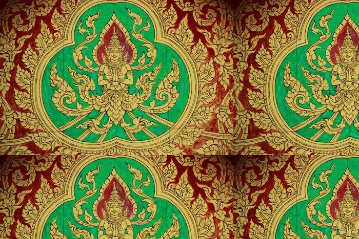 Tapeta Pixerstick Malby v chrámu zdi - Umění a tvorba