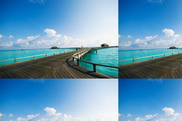 Vinylová Tapeta Maldives Resort most - Prázdniny