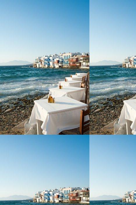 Tapeta Pixerstick Malé Benátky, u Egejského moře - Evropa