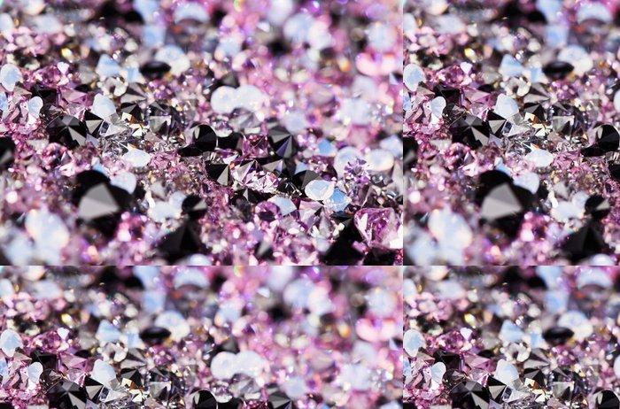 Tapeta Pixerstick Malé fialové drahokamů, luxusní zázemí mělké hloubku fiel - Úspěch