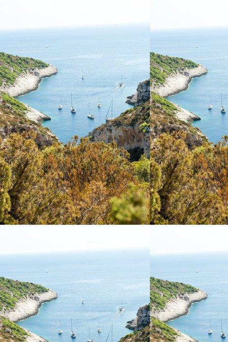 Tapeta Pixerstick Malebné zátoce - Ostrovy