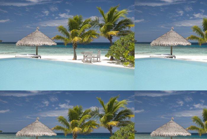 Tapeta Pixerstick Maledivské island - Prázdniny