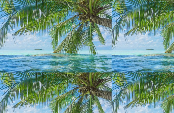Vinylová Tapeta Maledivy - Asie