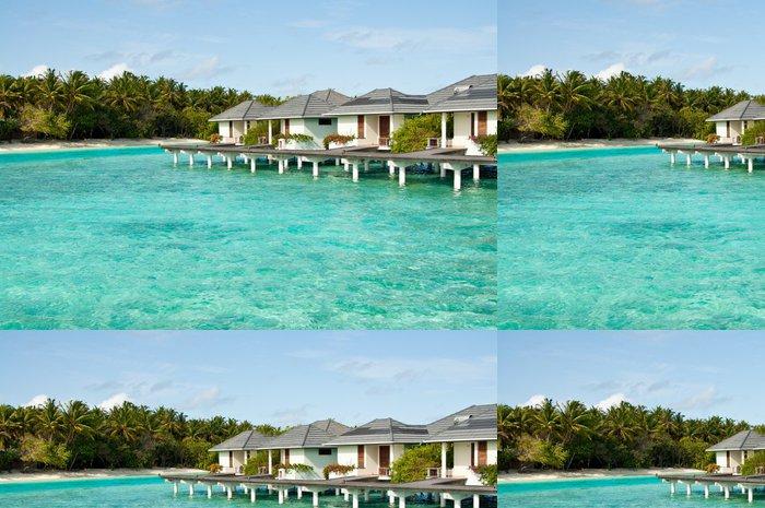Tapeta Pixerstick Maledivy - Oceánie