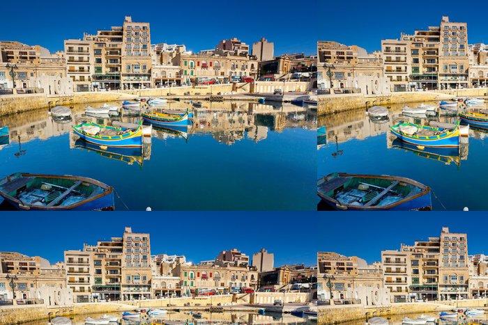 Tapeta Pixerstick Malta - Evropa