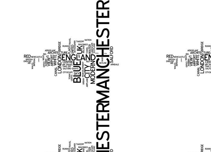 Vinylová Tapeta Manchester (UK) - Evropa