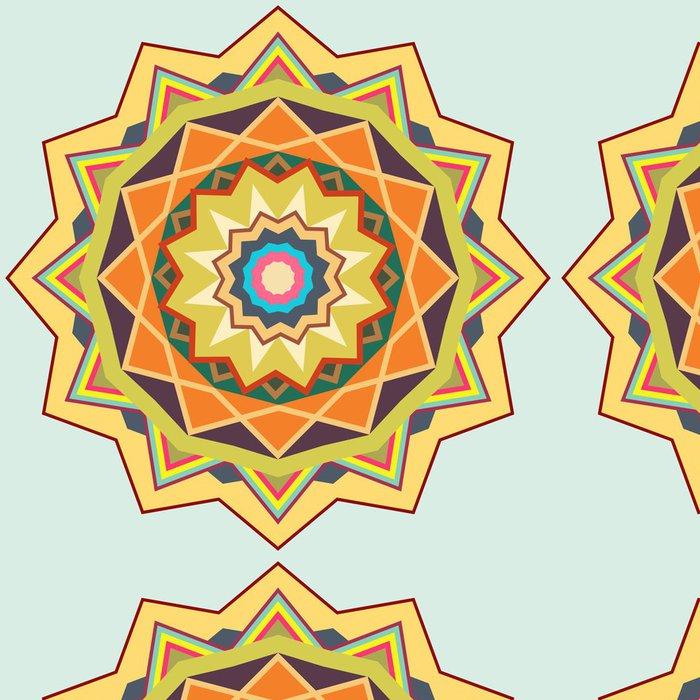 Vinylová Tapeta Mandala Pattern - Styly