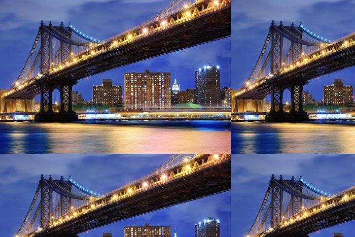 Tapeta Pixerstick Manhattan bridge - Témata