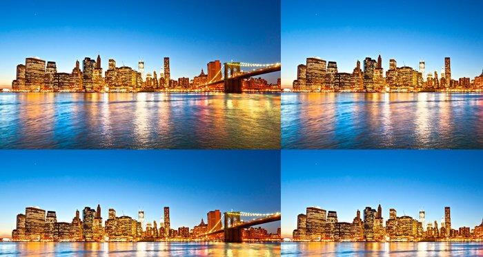 Tapeta Pixerstick Manhattan, New York City. USA. - Témata