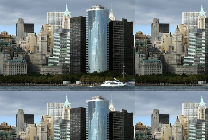 Tapeta Pixerstick Manhattan skyline - Americká města