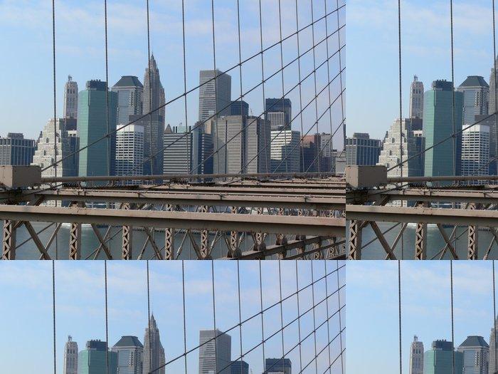 Tapeta Pixerstick Manhattan - Americká města
