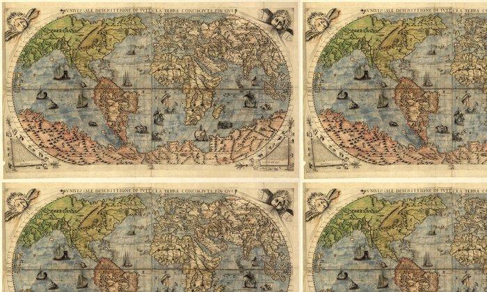 Tapeta Pixerstick Mapa starého světa - Styly