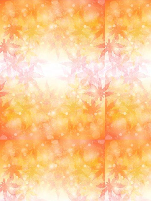Tapeta Pixerstick Maple podzimní listí pozadí - Surové materiály