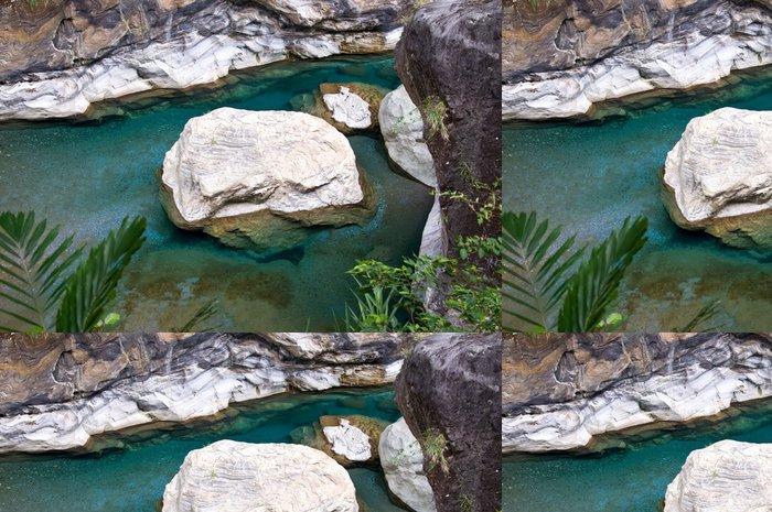 Tapeta Pixerstick Marble Rock, Tchaj-wan - Asie