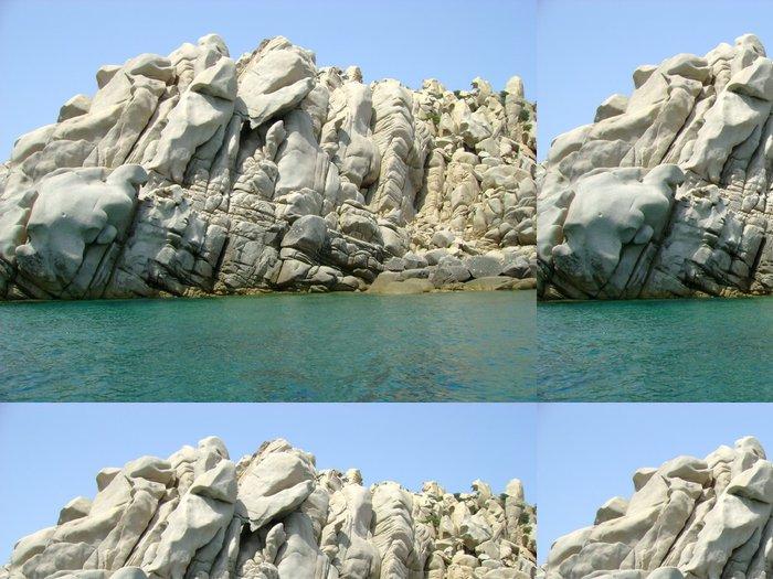 Tapeta Pixerstick Mare e Rocce - Evropa