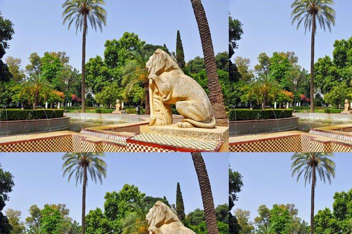 Tapeta Pixerstick Maria Luisa Park ve španělské Seville - Evropa