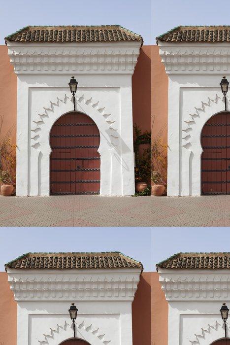 Tapeta Pixerstick Marocká brána v Marrákeši - Památky