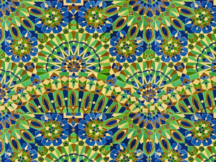 Vinylová Tapeta Marocké dlaždice - Afrika