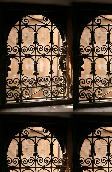 Tapeta Pixerstick Marocký Window - Afrika