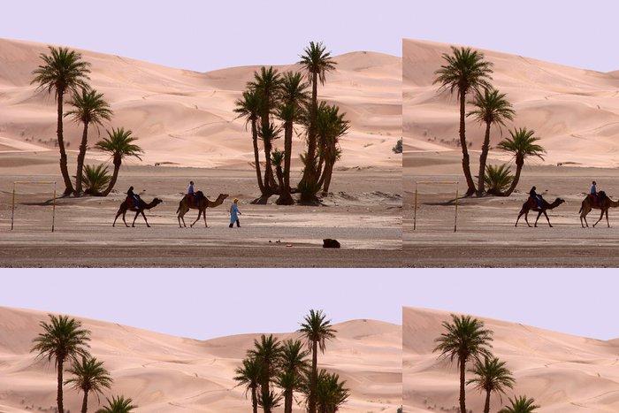 Tapeta Pixerstick Maroko, Erg Chebbi, jít kolem .... - Témata
