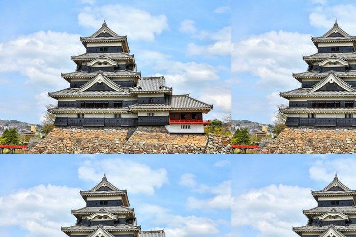 Tapeta Pixerstick Matsumoto hrad v Japonsku - Památky