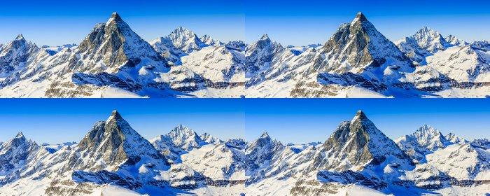 Tapeta Pixerstick Matterhorn, Švýcarské Alpy - panorama - Evropa
