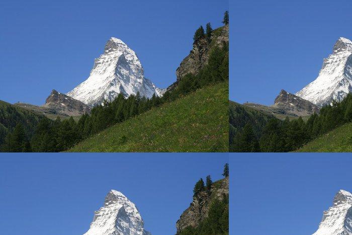 Tapeta Pixerstick Matterhorn - Hory