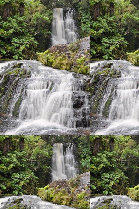Tapeta Pixerstick McLean Falls, The Catlins, Nový Zéland - Oceánie