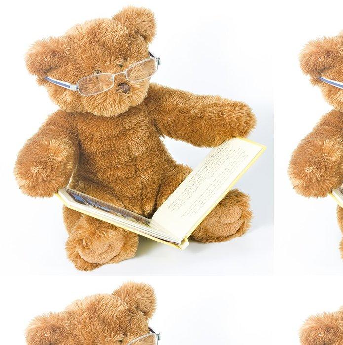 Tapeta Pixerstick Medvídek čtení knihy - Hry
