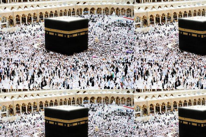 Tapeta Pixerstick Mekce Kaaba Hajj muslimové - Náboženství