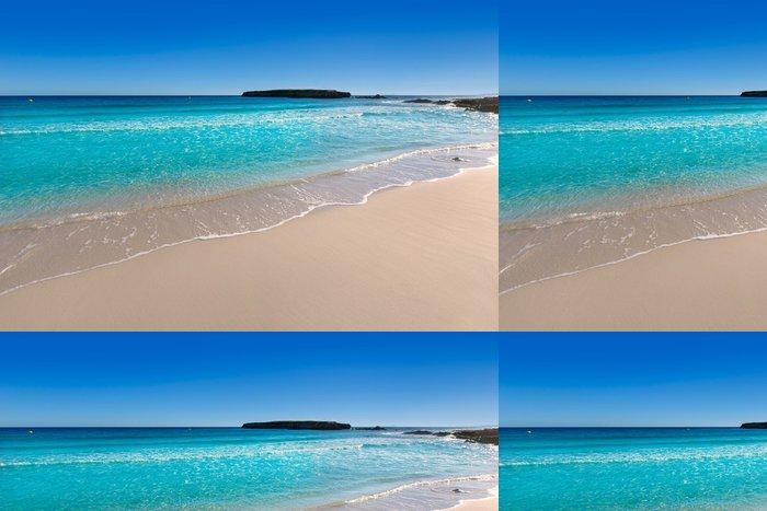 Tapeta Pixerstick Menorca Platja de Binigaus pláž Mediterranean ráj - Evropa