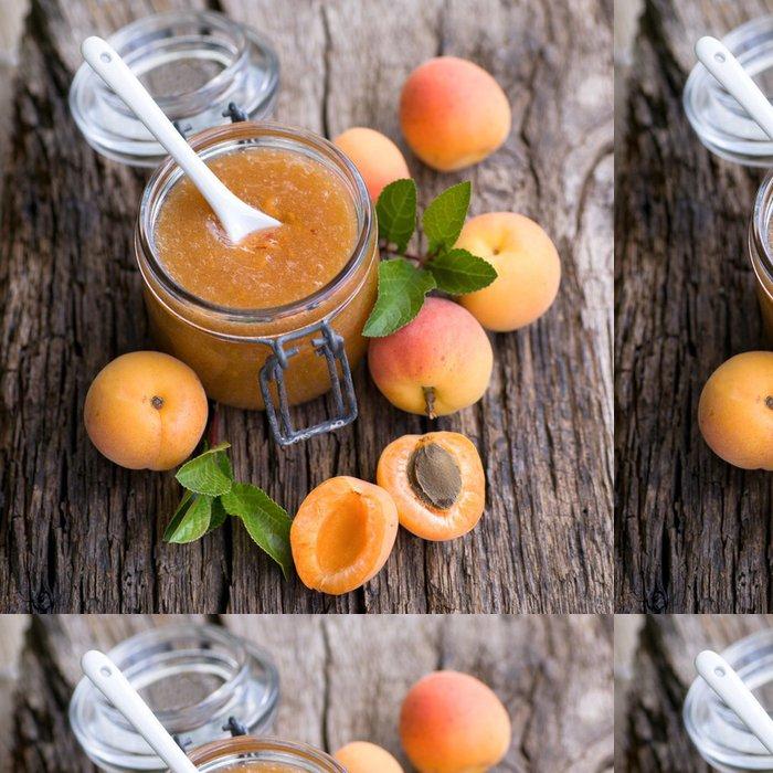 Tapeta Pixerstick Meruňkový džem - Ovoce