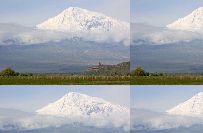 Tapeta Pixerstick Město - arménie - Asie