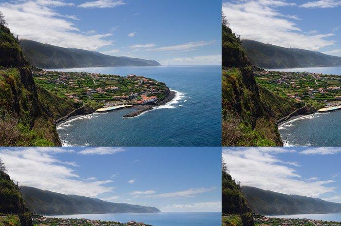 Vinylová Tapeta Město Ponta Delgada, Madeira - Evropa