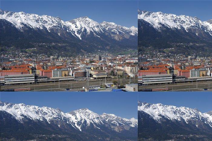 Tapeta Pixerstick Město - rakousko - Evropa