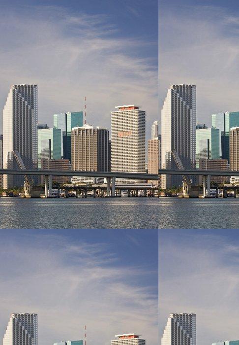 Tapeta Pixerstick Miami Florida panorama centrální budovy - Amerika