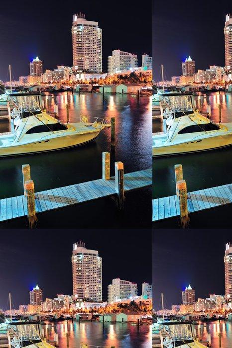 Tapeta Pixerstick Miami South Beach street - Amerika