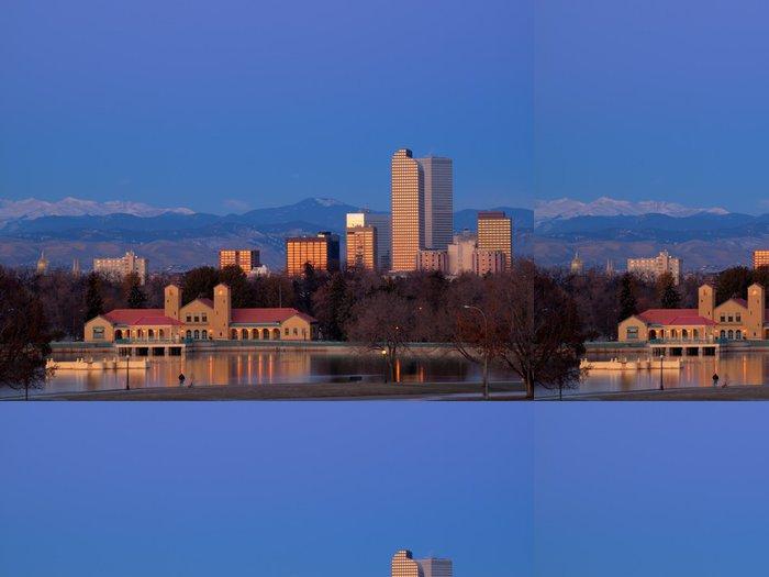 Vinylová Tapeta Mile High město Denver - Město